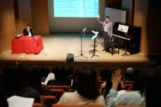 Speaker for piano exam seminar